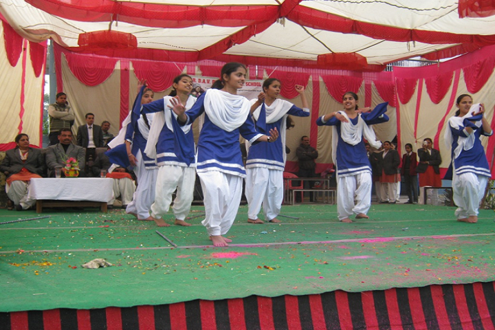 TRDAV Public Senior Secondary School-Events dance