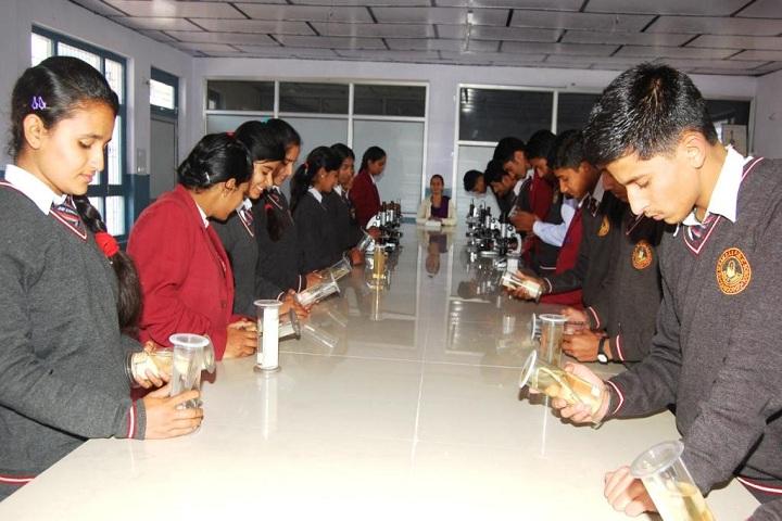 TRDAV Public Senior Secondary School-Laboratory biology