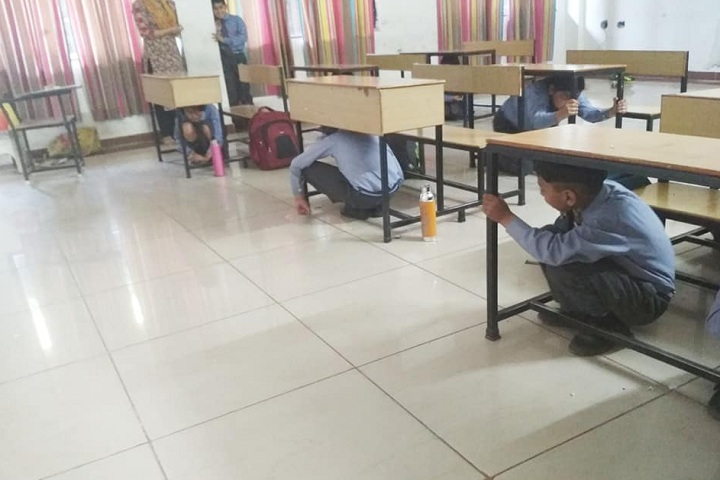 The Divine International School-Classroom view