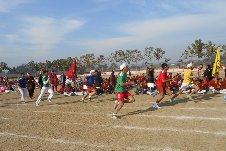 The ScholarS Home Paonta Sahib-Play Ground