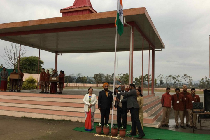 The ScholarS Home Paonta Sahib-independance Day