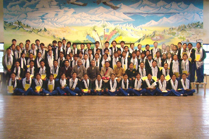 Tibetan ChildrenS Village Senior Secondary School-Students