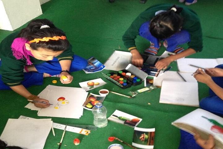 Tibetans Childrens Village School-Painting