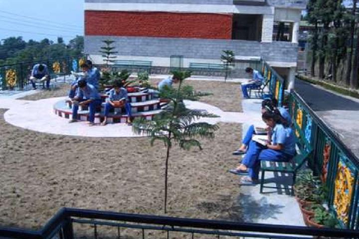Tibetans Childrens Village School-School outside