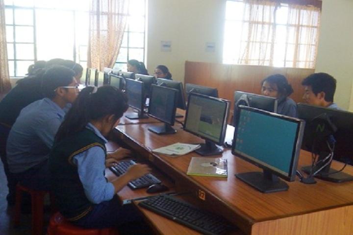 Tibetans Childrens Village School-Computer Lab
