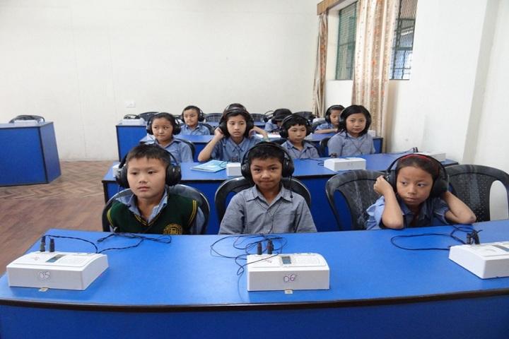 Tibetans Childrens Village School-Laboratory