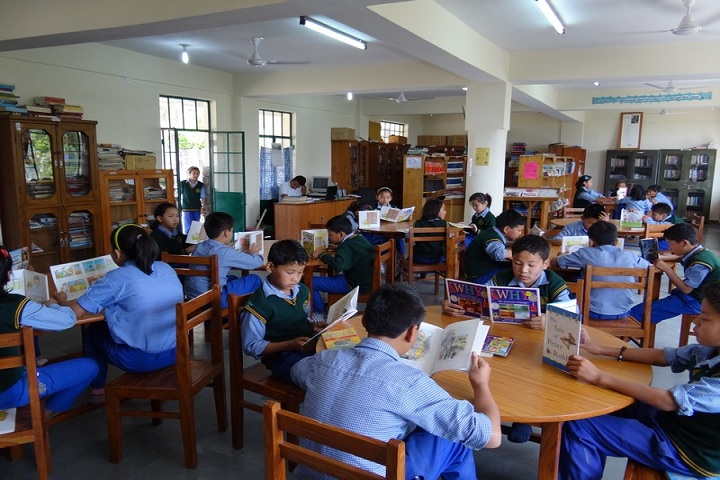 Tibetans Childrens Village School-Library