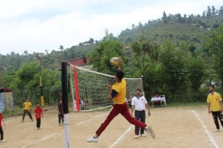 Army Goodwill Public School-Sports Volleyball