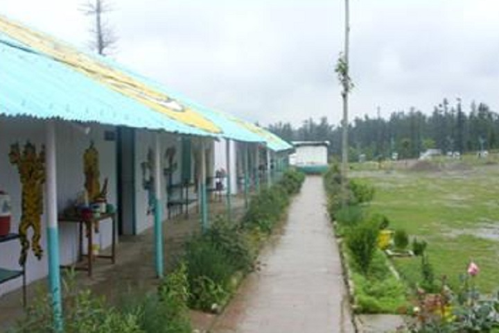 Army Goodwill Public School-Campus View Inside