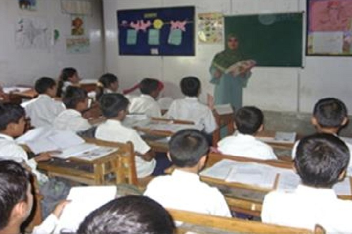 Army Goodwill Public School-Classroom