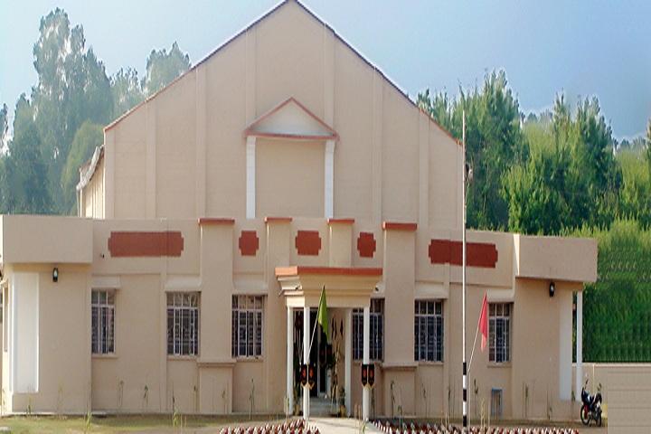 Army Public School-CampusView Entrance