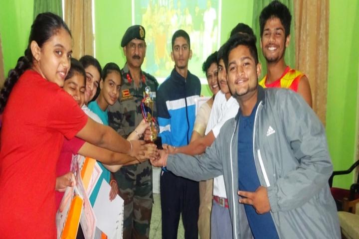 Army Public School-Sports View of School
