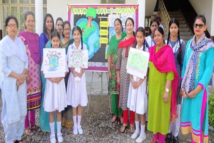 Army Public School-World Earth day