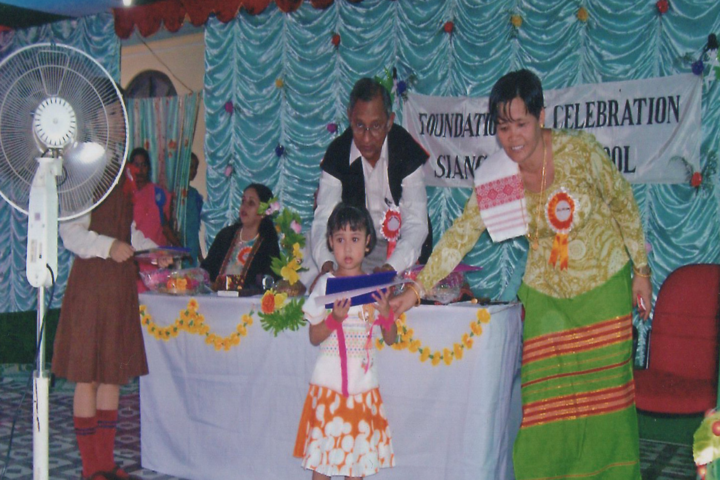 Siang Model School-Prize Distribution