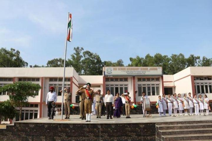 BSF Senior Secondary School-Flag Hoisting