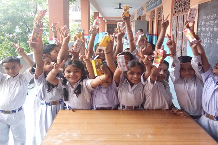 Brahmrishi Bawra Shanti Vidyapeeth School-kids
