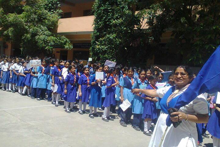Brahmrishi Bawra Shanti Vidyapeeth School-rally
