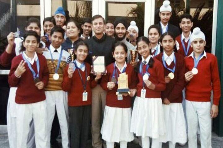 cybernetics secondary school-medals