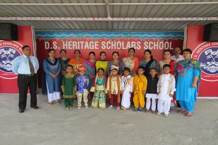 D S HERITAGE SCHOLARS SCHOOL - fancy dress