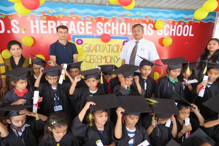 D S HERITAGE SCHOLARS SCHOOL - graduation ceremony