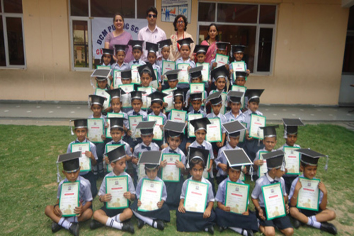 DCM Public School-Graduation Day