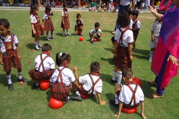 DCM Public School-Play Ground