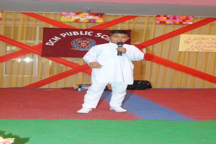 DCM Public School-Singing