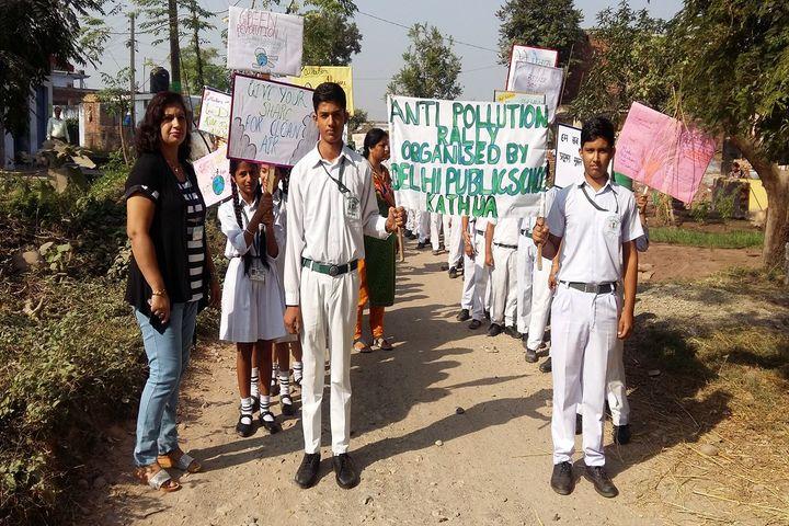 Delhi Public School-Anti Pollution Rally