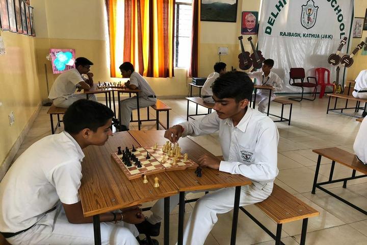 Delhi Public School-Chess Compitition
