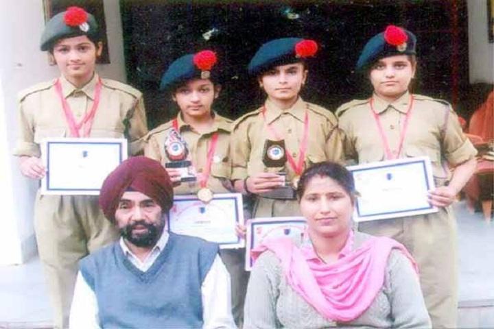 Dewan Badrinath Vidya Mandir - Scouts