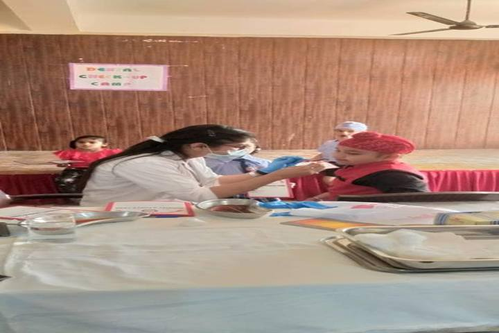 Don International School-Health Check Up