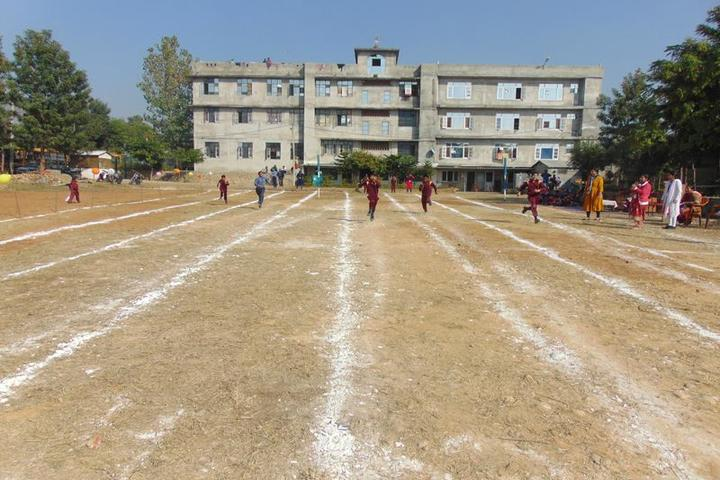 Galaxy Public School-Running Race