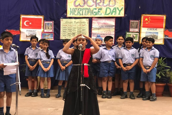 Heritage School-World Heritage Day