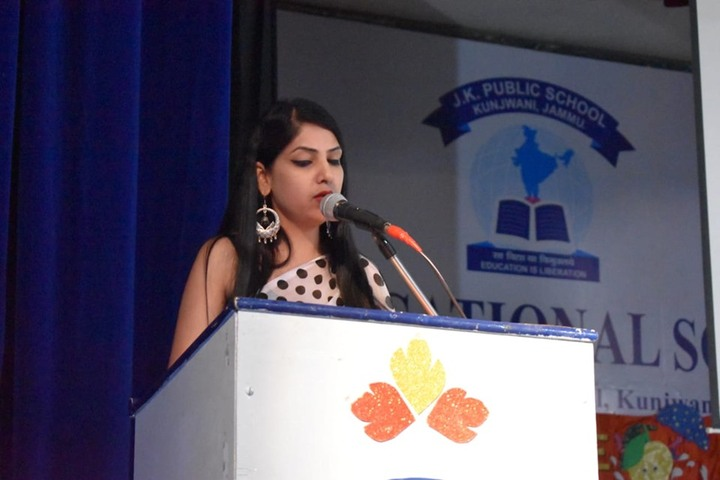 JK Public School-Speech