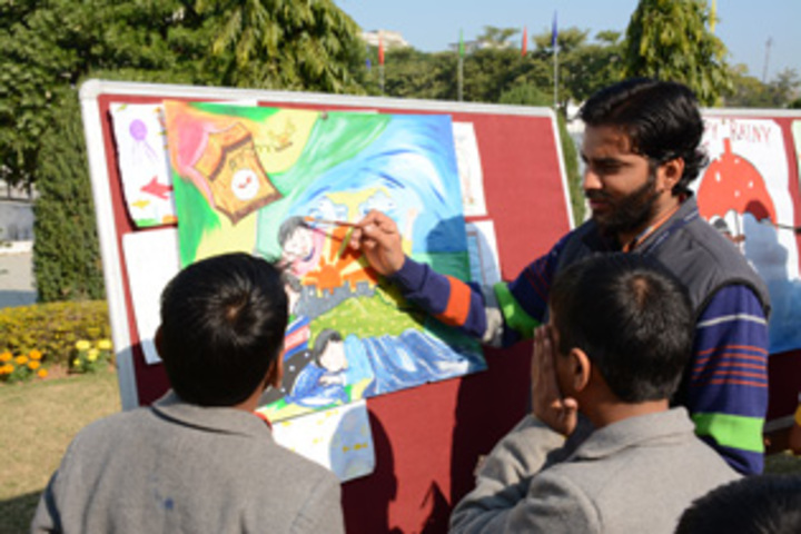 JP World School-Painting