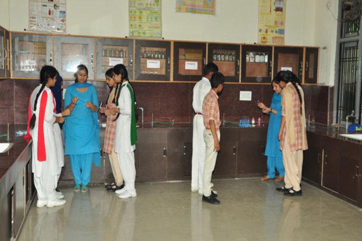 J k Police Public School- Chemistry Lab