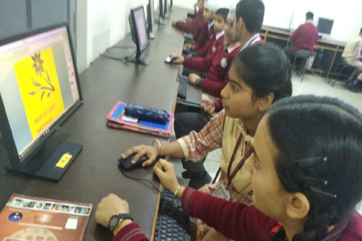 J k Police Public School- Comp Lab