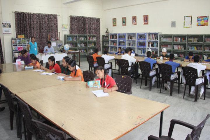 J k Police Public School- Library