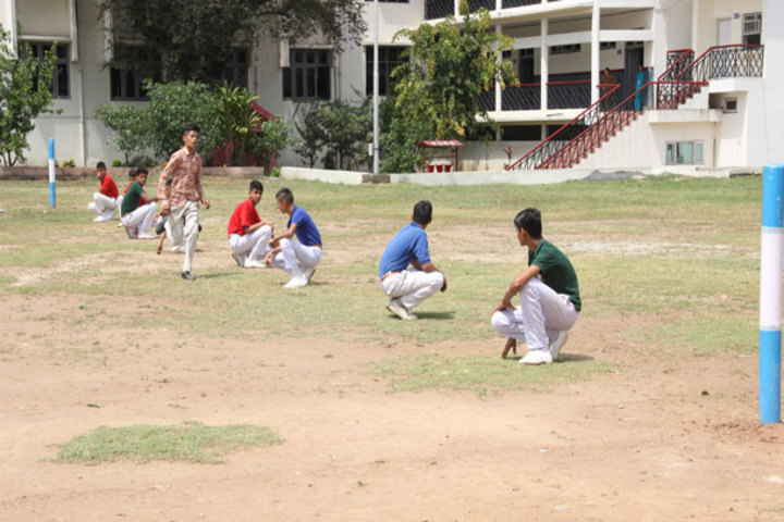 J k Police Public School- Play Ground