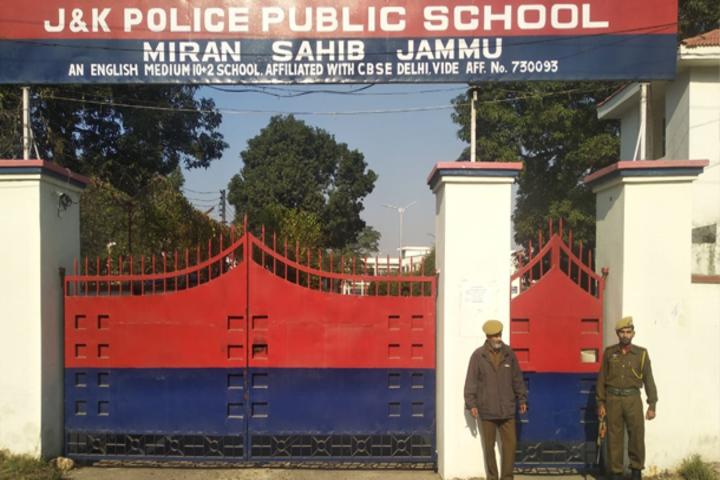 J k Police Public School- School Gate