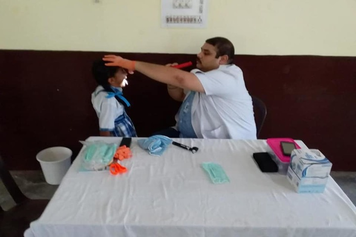 Jammu Sanskriti School-Dental Checkup