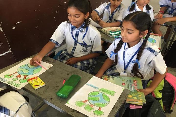 Jammu Sanskriti School-Painting