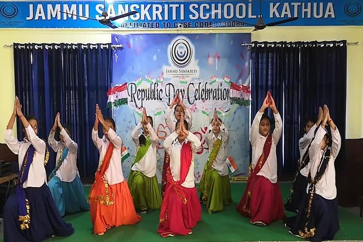 Jammu Sanskriti School-Republic Day