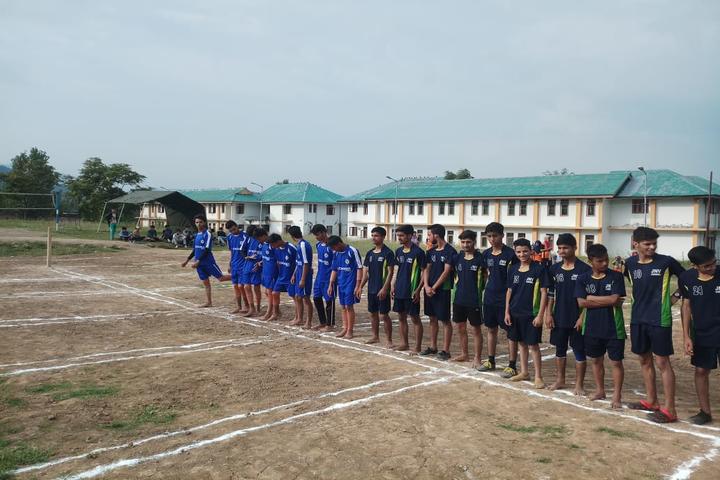 Jawahar Navodaya Vidyalaya School-Running Race
