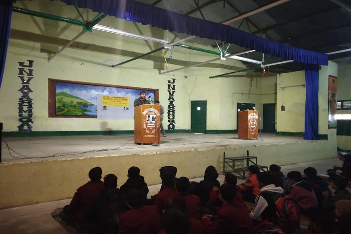 Jawahar Navodaya Vidyalaya School-Speech