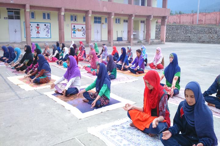 Jawahar Navodaya Vidyalaya School-Yoga