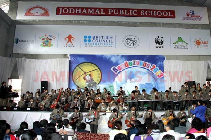Jodhamal Public School-Music Day