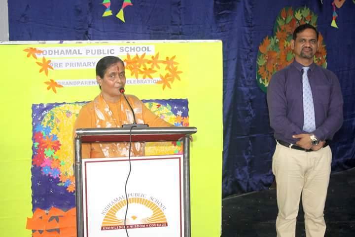 Jodhamal Public School-Speech