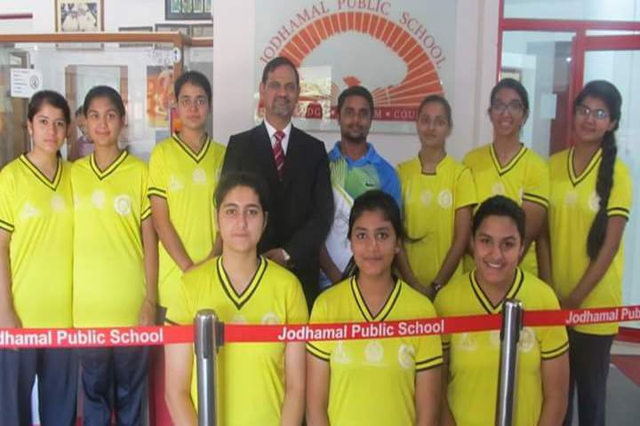 Jodhamal Public School-Sports
