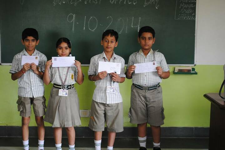 K C International School-Classroom